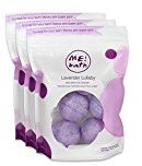 Me! Bath Handmade Mini Bath Bombs, Lavender Lullaby, Pack of 3