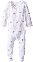Aden Anais aden + anais Long Sleeve Kimono One-Piece (Infant)