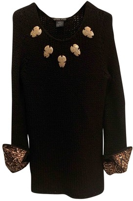 Thomas Wylde Black Cashmere Dress for Women