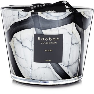 Baobab Collection Stones Marble Candle