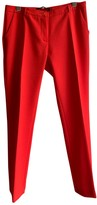 Max Mara Weekend Red Trousers for Women