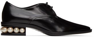 Nicholas Kirkwood Black Casati Derby Oxfords