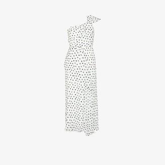 Roland Mouret Giza polka dot midi dress