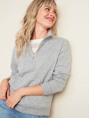 Old Navy Mock-Neck 1/2-Zip Sweatshirt for Women