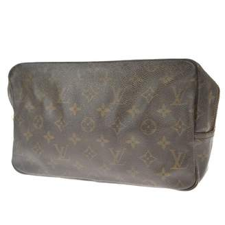 Louis Vuitton Brown Cloth Travel bags