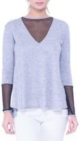 Olian Women's Valerie Mesh Detail Maternity Sweater