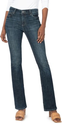 KUT from the Kloth Natalie Mid Rise Bootcut Jeans