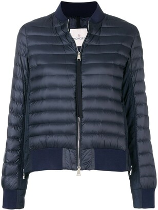 Moncler Padded Panelled Bomber Jacket