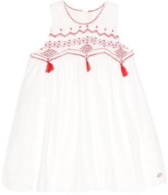 Tartine et Chocolat Baby embroidered cotton dress