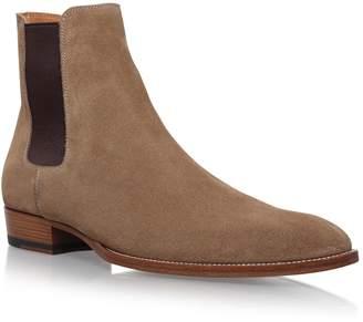 Saint Laurent Classic Wyatt Chelsea Boots