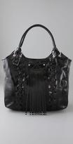 Whipstitch Shoulder Bag