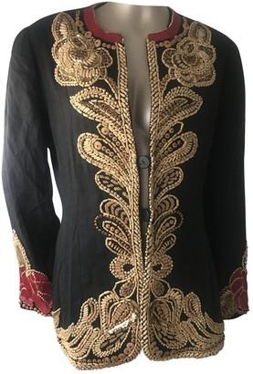 Krizia Black Linen Jacket for Women