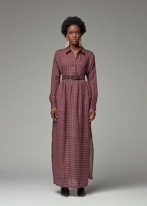Rachel Comey Women's Taviani Dress in Purple Size 0 100% Ramie
