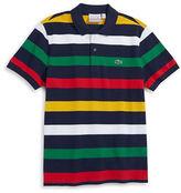 Lacoste Hudson'S Bay Company X Men's Multi Stripe Polo