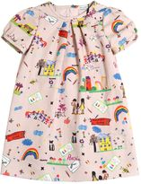 Dolce & Gabbana Drawings Printed Cotton Flannel Dress