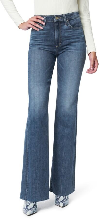 Flawless The Molly High Waist Cut Hem Flare Jeans