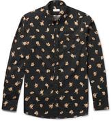 Dries Van Noten Floral-Print Cotton-Poplin Shirt
