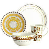 Rachael Ray Circles and Dots 16-pc. Dinnerware Set