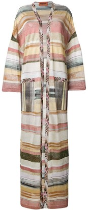 Missoni Long Striped Cardigan