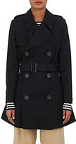 The RERACS Women's Double-Breasted Trench Coat