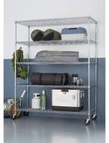 "WFX Utility 77"" H x 60"" W 5-Tier Wire Shelving Unit WFX Utility Finish: Chrome"