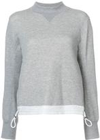 Sacai Drawstring Sweatshirt