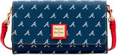 Dooney & Bourke MLB Braves Daphne Crossbody Wallet
