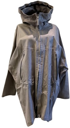 Isaac Sellam Grey Leather Jacket for Women