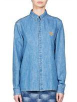 Kenzo Light Denim Button-Down Shirt