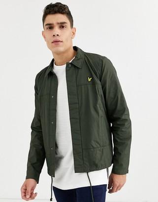 Lyle & Scott coach jacket-Green