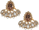 Marchesa Multihued Glass Crystal Stud Earrings