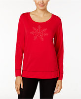 Hue Holiday Graphic Pajama T-Shirt