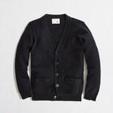 J.Crew Factory Boys' cotton cardigan sweater