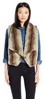 Jack by BB Dakota Women's Julius Faux Fur Vest