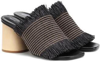 Proenza Schouler Raffia sandals
