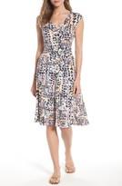 Nic+Zoe Women's Bright Lights Faux Wrap Dress