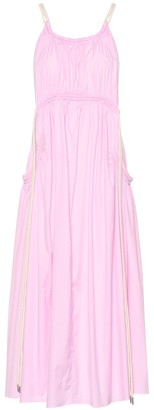 Lee Mathews Elsie cotton-blend maxi dress