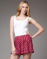 Nanette Lepore Tattletale Silk Shorts