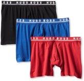HUGO BOSS BOSS Men's 3-Pack Cotton Stretch Cyclist Boxer Short