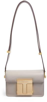 Tom Ford Small Leather T Clasp Shoulder Bag