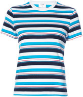 RE/DONE striped T-shirt - women - Cotton - XS