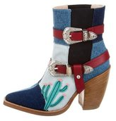 Tommy Hilfiger Patchwork Ankle Boots