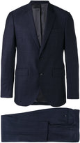 Hackett checked two-piece suit - men - Wool/viscose - 48