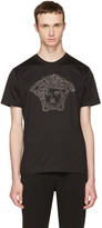 Versace Black Large Chain Medusa T-shirt