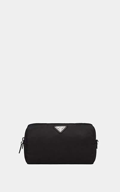 3045fbce9 Prada Leather Zip Pouch - ShopStyle
