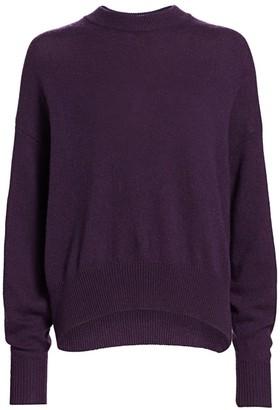 The Row Ophelia Cashmere & Cotton Crewneck Sweater