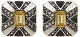 House Of Harlow Art Deco Stud Earrings
