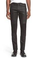 Belstaff Men's 'Blackrod' Raw Stretch Denim Moto Jeans