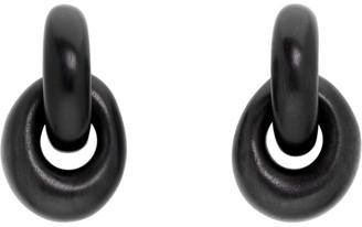 Monies Jewellery Black Havana Earrings