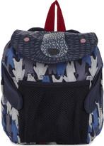 Joules Bear print backpack